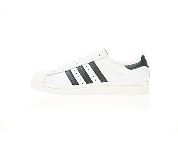 Schuhe Weiß & Schwarz & Gold Unisex Adidas Superstar Boost Bb0188