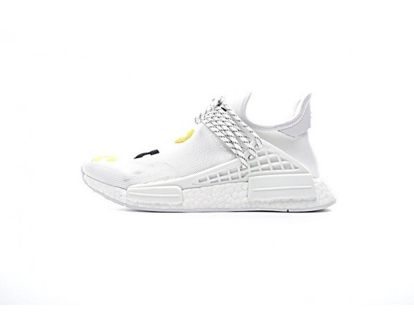 Unisex Adidas Nmd Collab Race Boost Weiß Schuhe