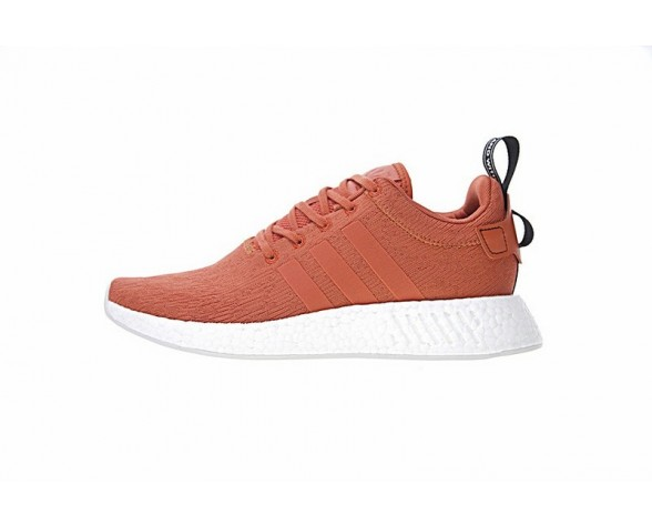 Adidas Nmd Boost R_2 By9915 Brick Rot Orange Unisex Schuhe
