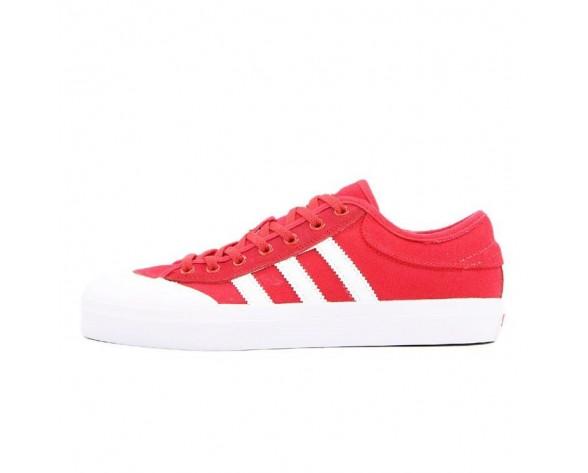 Unisex Schuhe Adidas Matchcourt Low Rot F37381 Weiß & Rot