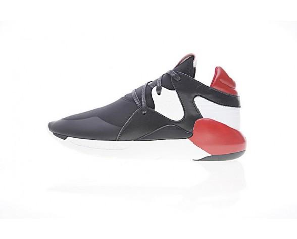 Unisex Schwarz Rot Weiß Schuhe Adidas Y-3 Boost Qr S83120