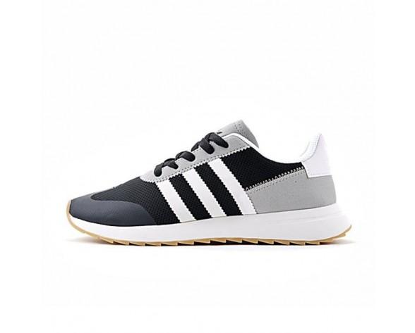 Adidas Originals Flashback Breathable Sneakers S78620 Schwarz & Grau & Weiß Herren Schuhe