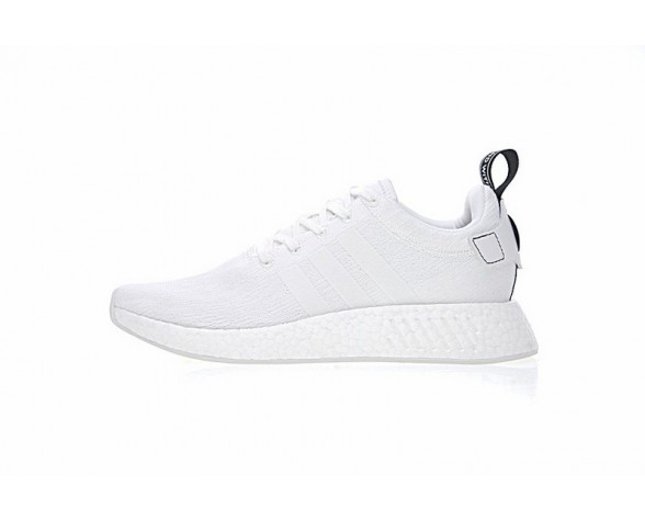 Adidas Nmd Boost R_2 By9914 Unisex Weiß & Schwarz Schuhe