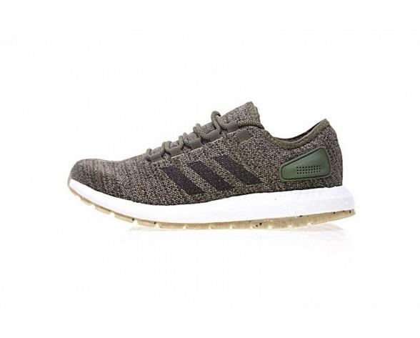 Adidas Pure Boost Terrain S80784 Olive Grün & Schwarz & Braun Unisex Schuhe