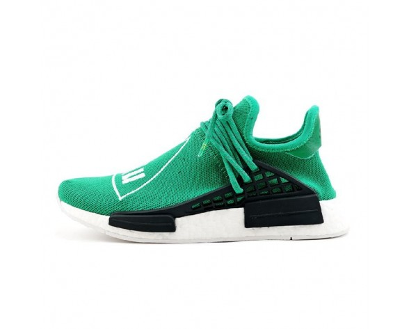 Schuhe Pharrell Williams X Adidas Originals Nmd Human Race Bb0620 Grün Unisex