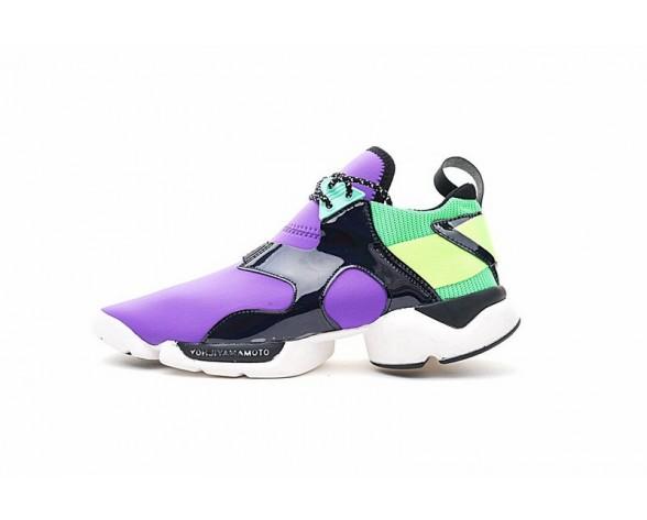 Purple & Fluorescent Grün Schuhe Unisex Yohji Yamamoto Y-3 Kohna Aq5522