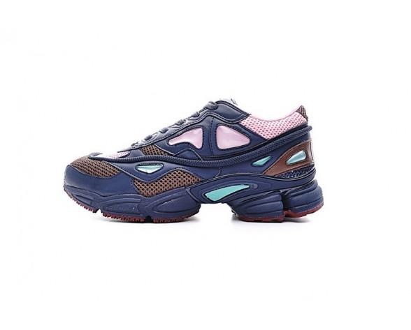 Midnight Marine & Khaki & Rosa Raf Simons X Adidas Consortium Ozweego 2 D66402 Schuhe Unisex