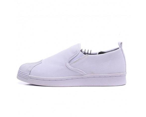 Unisex Adidas Originals Superstar Slip On Schuhe Weiß
