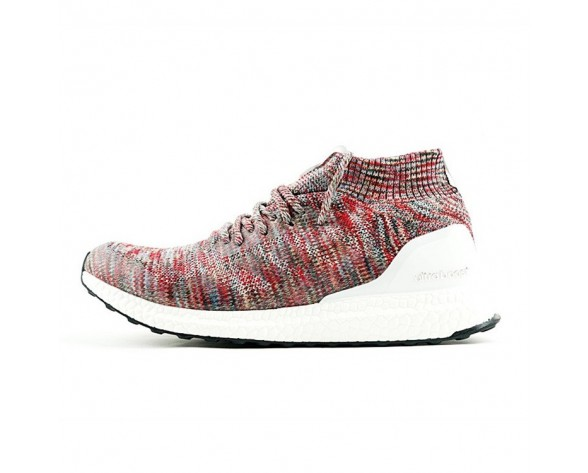 Schuhe Multicolor Kith X Adidas Ultra Boost Mid By2592 Unisex