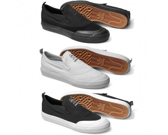 Adidas Matchcourt Slip-On Schuhe Unisex
