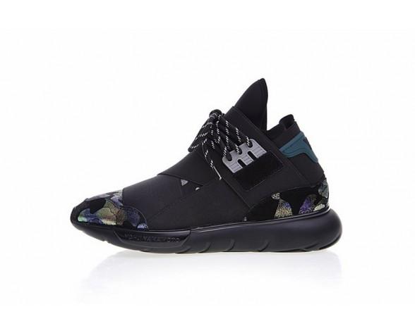 Schuhe Y-3 Qasa High B888 Schwarz & Multicolors Herren