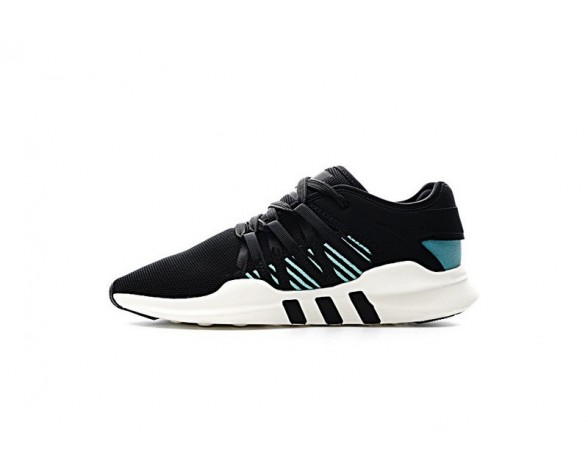 Schuhe Unisex Schwarz & Grün Adidas Eqt Support Adv Primeknit 91/17 Cq2158
