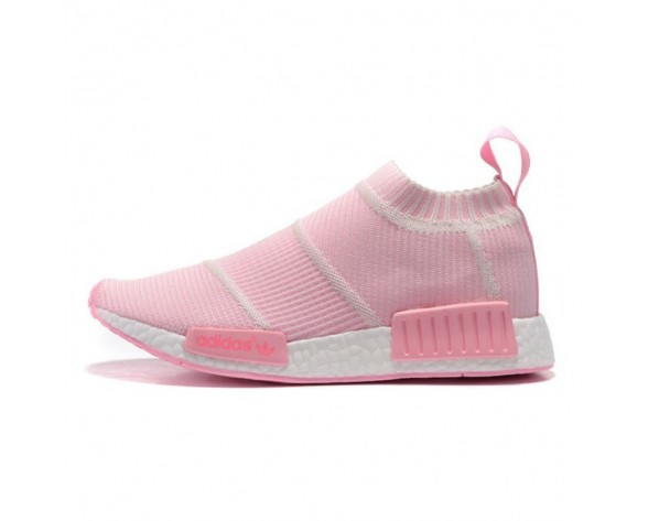 Adidas Originals Nmd Mid Sock S79153 Rosa & Weiß Unisex Schuhe
