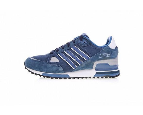 Herren Schuhe Lake Blau & Tief Blau Adidas Originals ZX 750 M18258