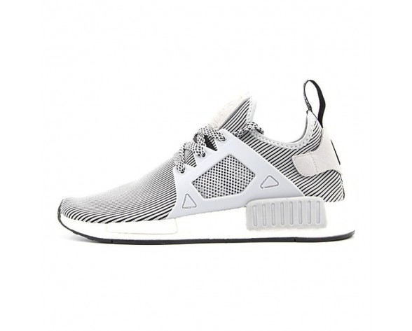 Schuhe Adidas Originals Nmd Primeknit Xr1 S32218 Weiß & Grau Unisex