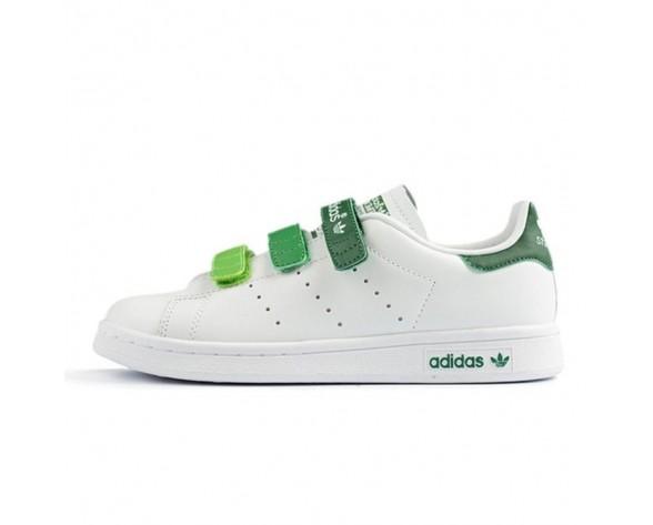 Unisex Schuhe Adidas Stan Smith Cf Aq5356 Weiß /Grün/Gradien