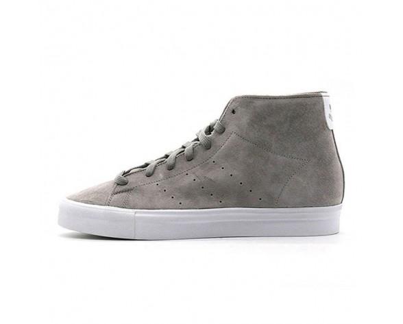 Grau Schuhe Unisex Adidas Origins Stan Sith Vulc Mid B25568