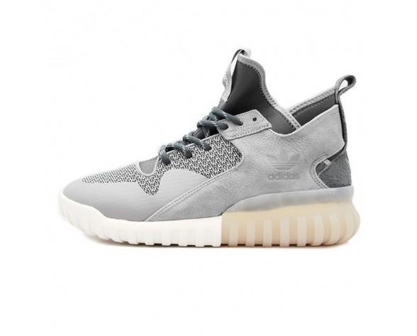 Grau & Schwarz Schuhe Adidas Tubular X S74927 Herren