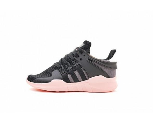 Damen Adidas Eqt Support Adv Primeknit 93 Bb2322 Schuhe Schwarz & Rosa