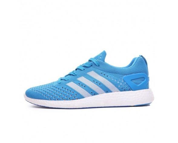 Adidas Primeknit Pure Boost E Unisex Licht Blau Schuhe