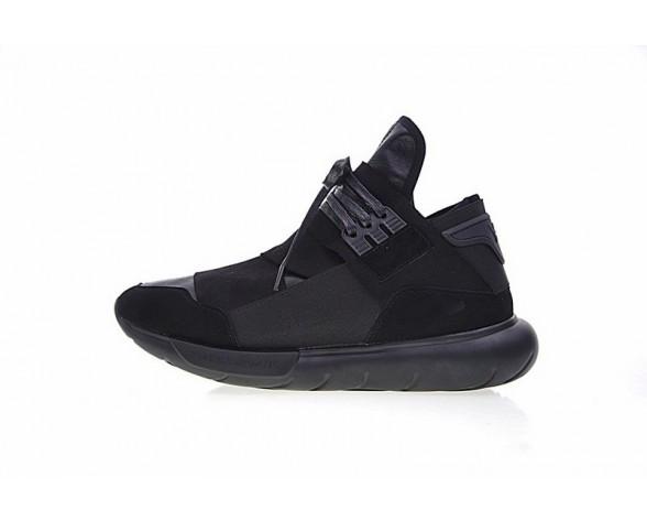 Schwarz Schuhe Y-3 Qasa High B26886 Unisex
