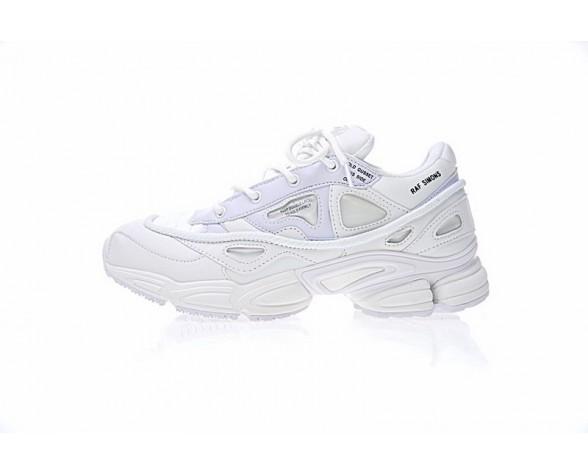 Weiß Unisex Raf Simons X Adidas Consortium Ozweego 2 S81161 Schuhe