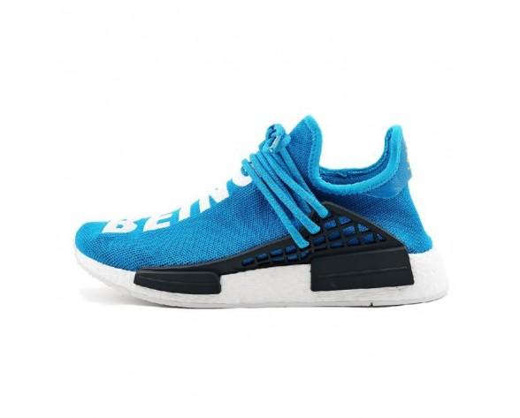 Schuhe Unisex Pharrell Williams X Adidas Originals Nmd Human Race Bb0618 Blau