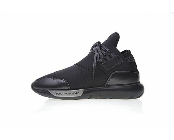 Blck & Grau & Silber Y-3 Qasa High S83173 Unisex Schuhe