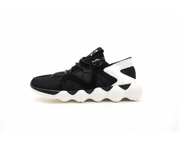 Schuhe Schwarz & Weiß Unisex Y-3 Spring Kyujo Low Aq5547