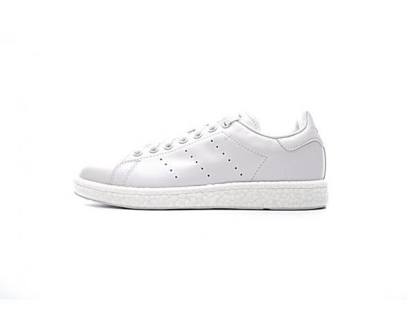 Adidas Stan Smith Boost Schuhe Weiß & Blau Unisex