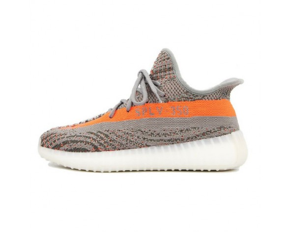 Unisex Schuhe Adidas Yeezy Sply-350 Boost Sample Aq5832 Grau Orange