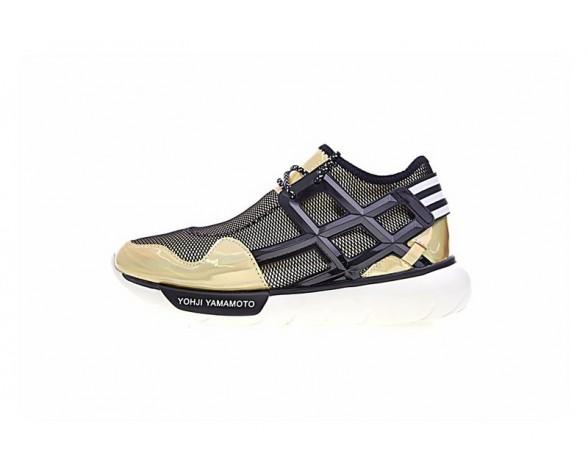 Unisex Y-3 Qasa Honja Low D66467 Colour Gold Schuhe