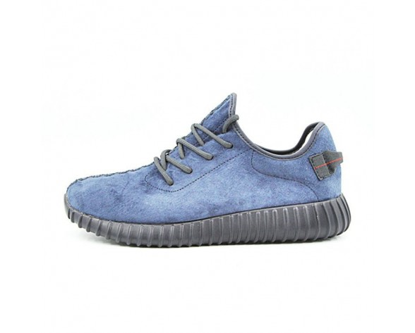 Purplish Blau/Schwarz Herren Schuhe Adidas Yeezy Boost 350 Leather Sneakersurplish Aq2661