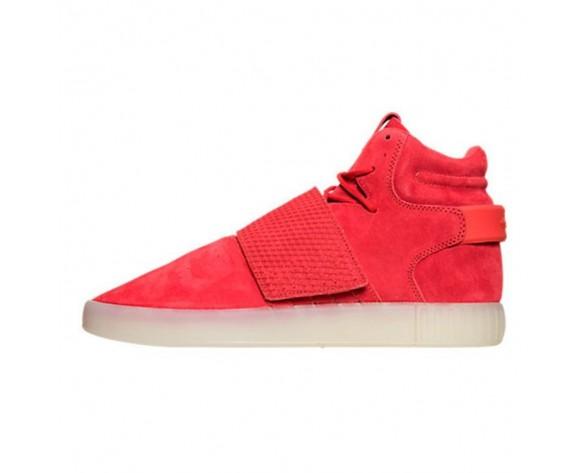 Schuhe Unisex Rot/Vintage Weiß Adidas Tubular Invader Strap Bb5039