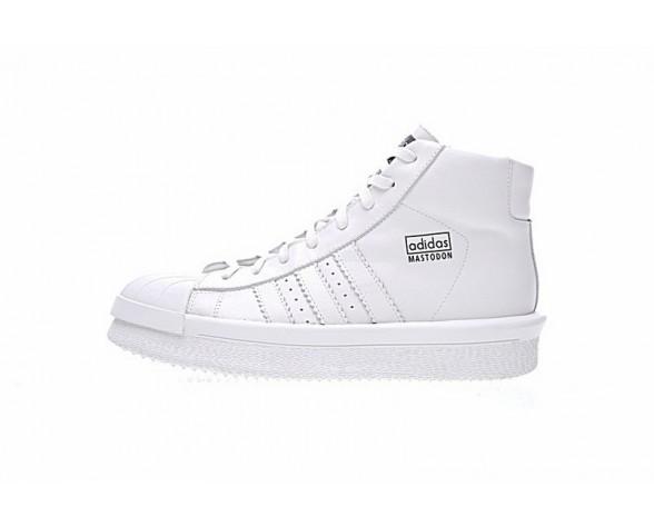 Weiß Unisex Schuhe Adidas X Rick Owens Mastodon Pro Ba9761
