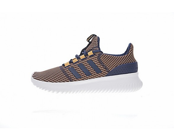 Adidas Neo Cloudfoam Ultimate Neo Bc0056 Unisex Schuhe Orange & Tief Blau