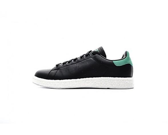 Schuhe Adidas Stan Smith Boost Unisex Schwarz & Grün