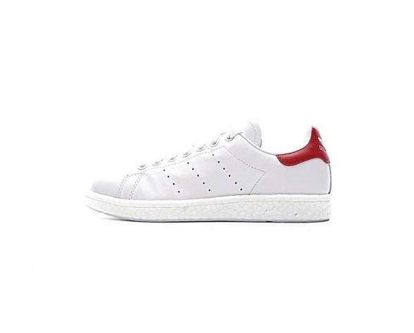 Adidas Stan Smith Boost Weiß & Rot Unisex Schuhe