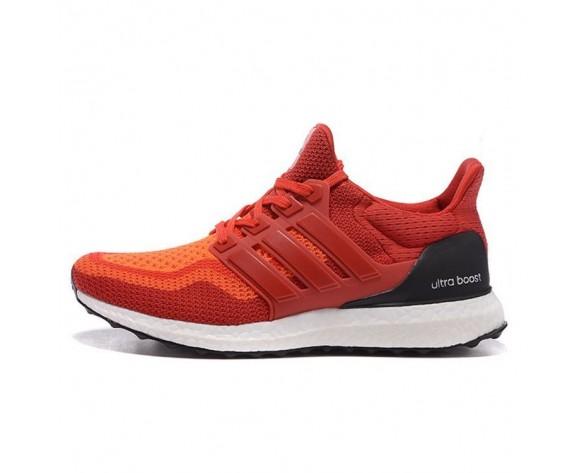 Orange Rot Adidas Ultra Boost Unisex Schuhe