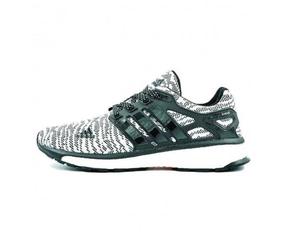 Weiß Schwarz Speckle Adidas Energy Boost Primeknit Es Speckle M29763 Schuhe Unisex