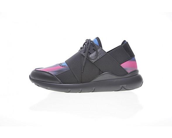 Unisex Schuhe Y-3 Qasa Elle Lace 17Ss B710121 Schwarz & Purple