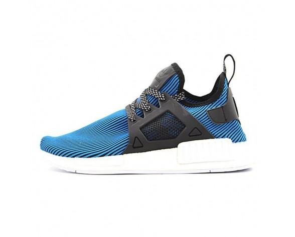 Unisex Schuhe Blau & Schwarz Adidas Originals Nmd Primeknit Xr1 S32212
