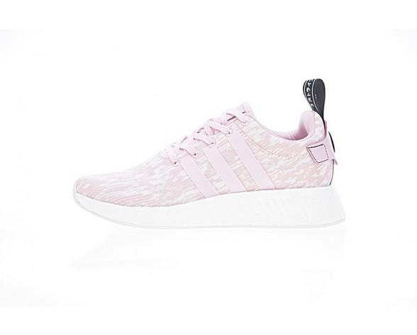 Unisex Cherry Rosa Schuhe Adidas Wmns Nmd_R2 Boost Der Rosa By9315