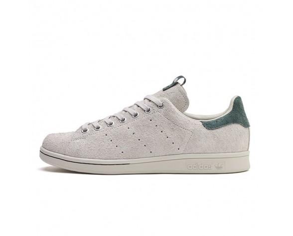 Schuhe Juice X Adidas Consortium Stan Smith Stay Off The Grass Ba8631 Weiß & Grün Unisex