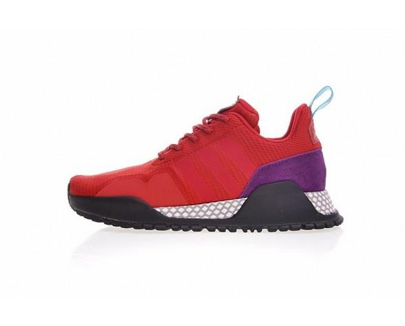 Schuhe Unisex Adidas Af 1.4 Primeknit Bz0614 Schwarz & Rosa & Weiß