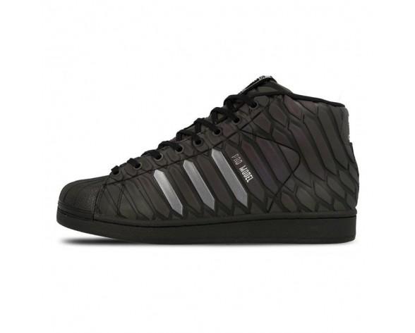 Adidas Pro Modelxeno Reflective Q16534 Schwarz Unisex Schuhe