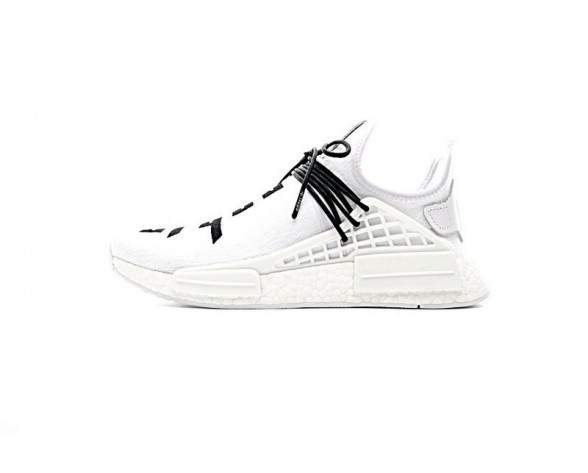 Unisex Fear Of God X Adidas Nmd Collab Race Boost Weiß & Schwarz Schuhe