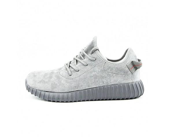 Licht Grau Herren Adidas Yeezy Boost 350 Leather Sneakers Aq2660 Schuhe