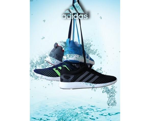 Adidas Primeknit Pure Boost Marine Blau Unisex Schuhe