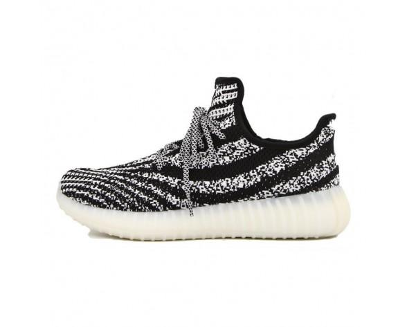 Schuhe Weiß & Schwarz Unisex Adidas Yeezy 550 Boost Aq3660